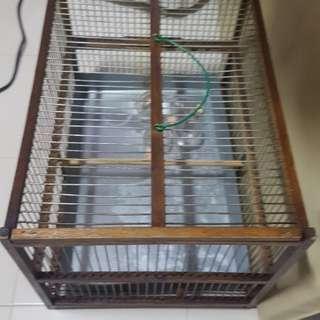 Big Shama bathing cage