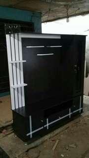 LEMARI TV MINIMALIS 160 x 160 / Hasil Pesanan