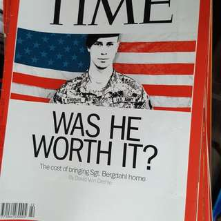Time Magazine clearance