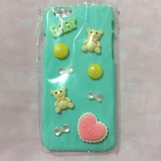 日本Swimmer iPhone手機殼Tiffany blue 曲奇餅 熊仔 心心 蝴蝶 原宿 Lolita