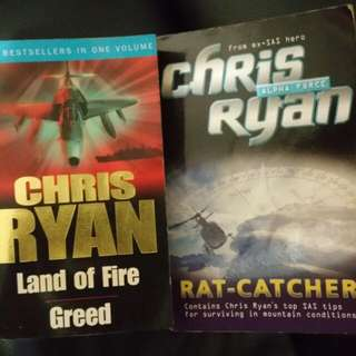Books - Chris Ryan fiction stories