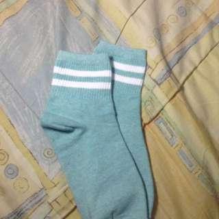 Cute Mint Green Socks
