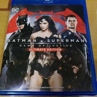 香港正版藍光~蝙蝠俠對超人正義曙光終極版