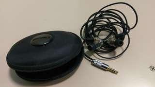 Shure 535 +SAEC 3.5mm耳機線