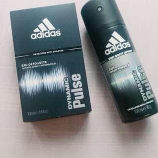 Adidas Eau De Toilette (free deodorant!)