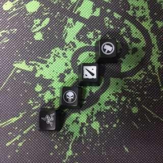 Gaming keycaps