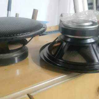 12 in woofer  speakers tested @60 each
