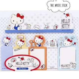 Hello Kitty Sticky Tabs Instocks