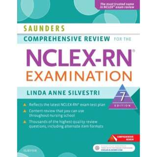 Saunders Comprehensive Review for the NCLEX-RN Examination, Linda Anne Silvestri, 7th Edition [PDF]