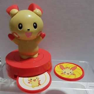 McDonald Happy Meal Toy 2005 - Pokemon Plusle Shooting Figure