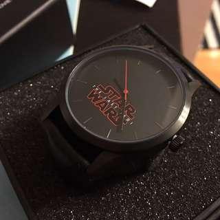 Star Wars 星球大戰 最後絕地武士 手錶 全新 正版