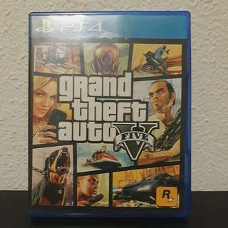 GTA 5 cd case