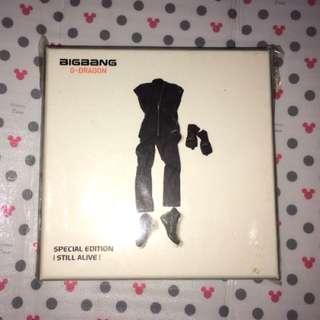 BIGBANG - SPECIAL EDITION [STILL ALIVE] [GDRAGON VERSION]