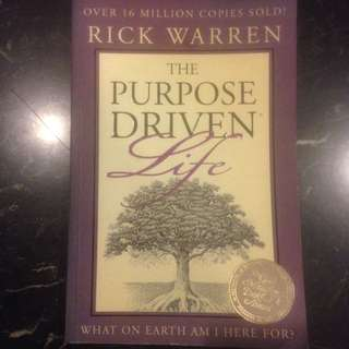 The Purpose Driven Life (What on Earth Am I Here For?) by Rick Warren