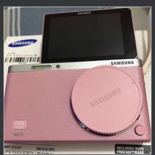 (粉)Samsung Nx mini