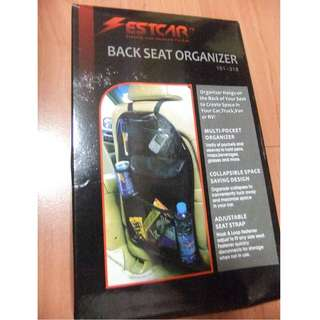New Car Back Seat Organizer