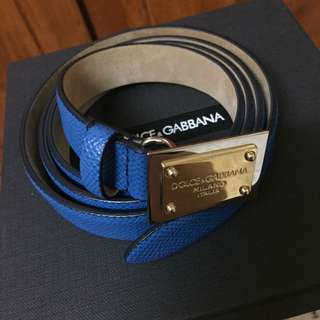 Dolce & Gabbana Belt 100% Authentic