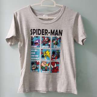 1301 NEW Universal Studio Japan Spiderman Tee