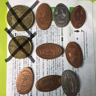 Souvenir Coins / Pressed Pennies