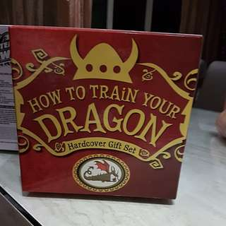 How to train you Dragon books 1 to 9