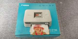 Canon Printer Selphy Cp740