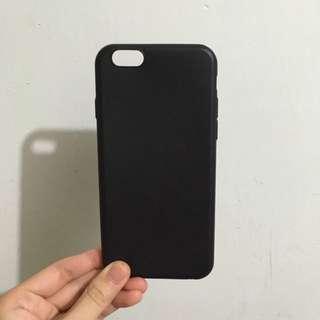 Iphone6 6s 手機殻 黑色 軟膠 超簿 四邊全包