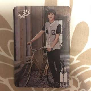 BTS 專輯yes card