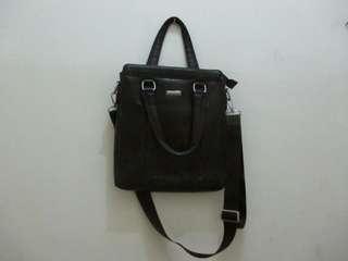 Original Leather Bag Giorgio Armani