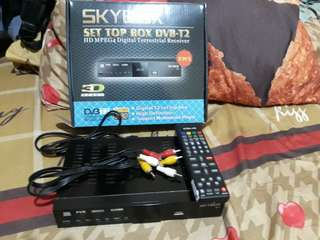 SET TOP BOX DVB-T2 SKY BOX