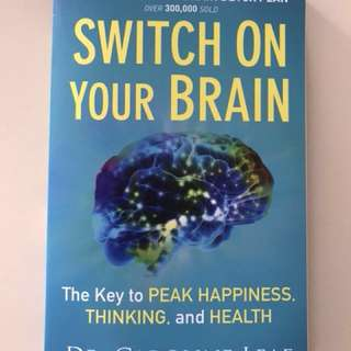 Brand new Book - Switch on your brain