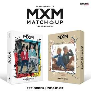 <<代購>>MXM (BRANDNEW BOYS) -Match Up (M Ver./X Ver.)