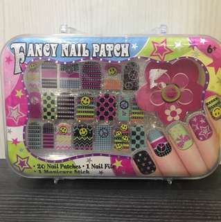 Fancy nail patch