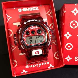 G-SHOCK SUPREME X LV LIMITED EDITION