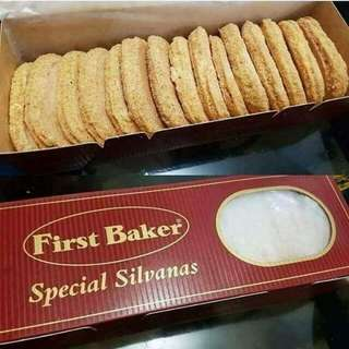 FIRST BAKER: SILVANAS
