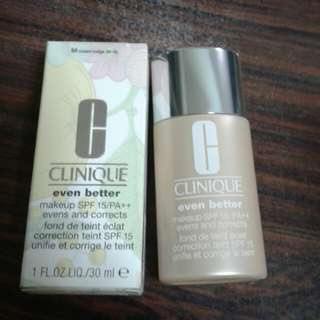 Brand New Clinique Even Better Liquid Foundation