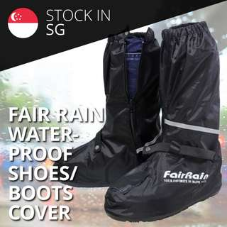 Fair Rain Waterproof Boots/Shoe Cover