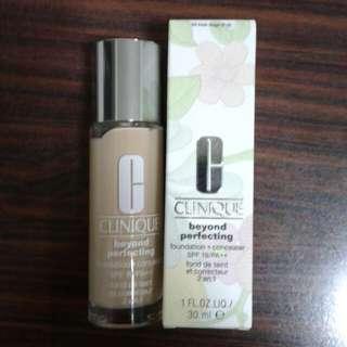 Clinique beyond perfecting liquid foundation + concealer
