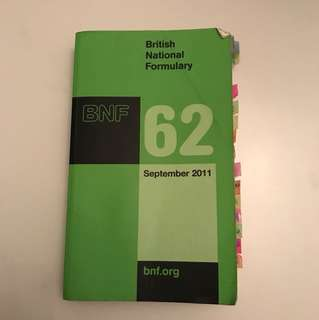 BNF British National Formulary 2011