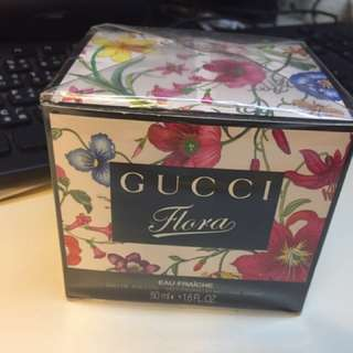 100% 50mL New Gucci Flora Fragrance With Plastic Wrapping