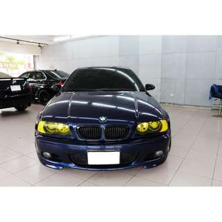 01 BMW 330 CI 藍