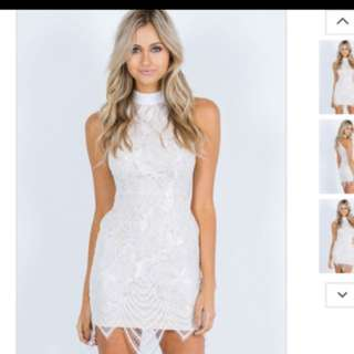 BNWT REVERSE embroidered party dress