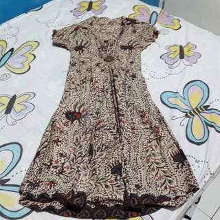 Dress Batik Panjang