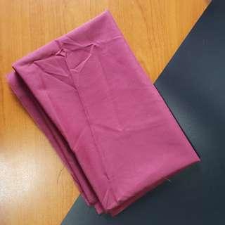 Maroon fabric