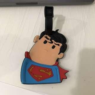 BAG TAG KOPER SUPERMAN