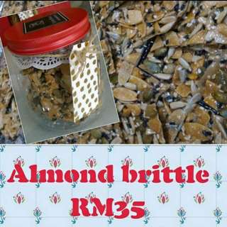 Chinese New Year special Almond brittle/ Florentine cookies