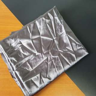 Silver reflective fabric