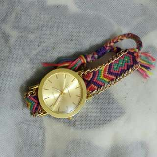 Jam tangan rajut Geneva