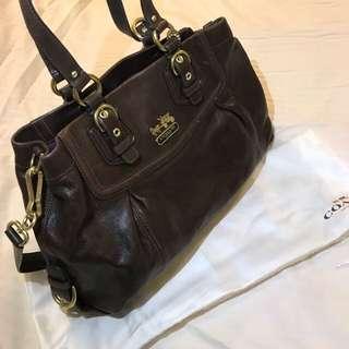 🇺🇸👜👜COACH Madison Leather Handbag 👜👜🇺🇸