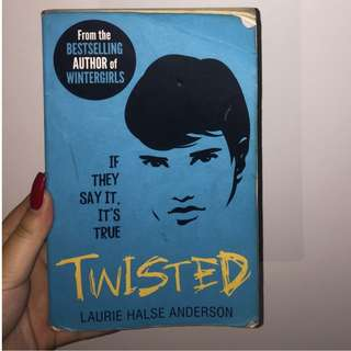 TWISTED ;book by Laurie Halse Anderson