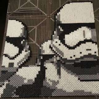 StormTrooper Hama Bead Designs